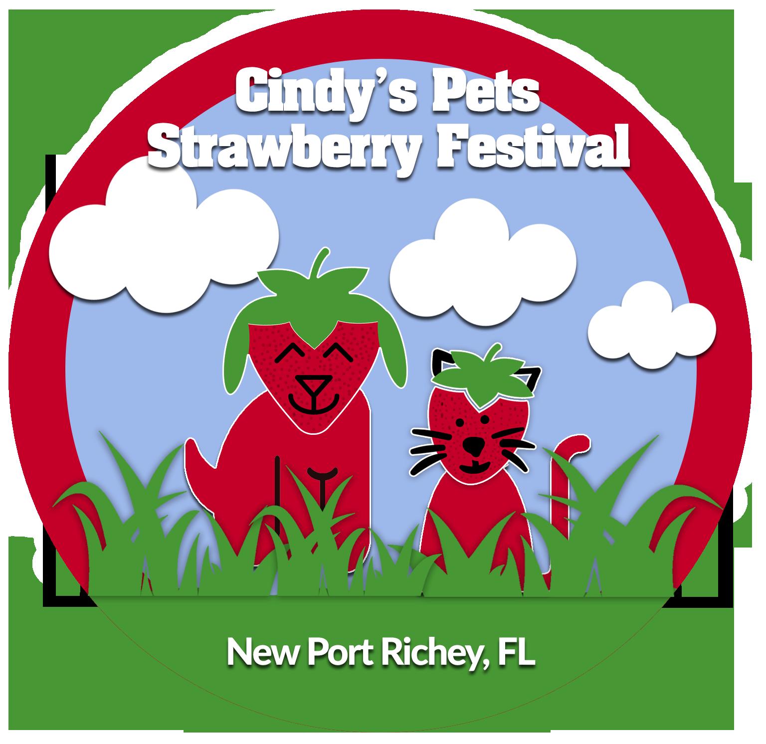 Strawberry Festival Logo no date
